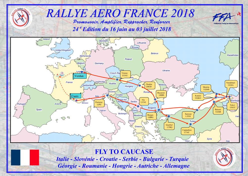 Partenariat Rallye Aero France 2018